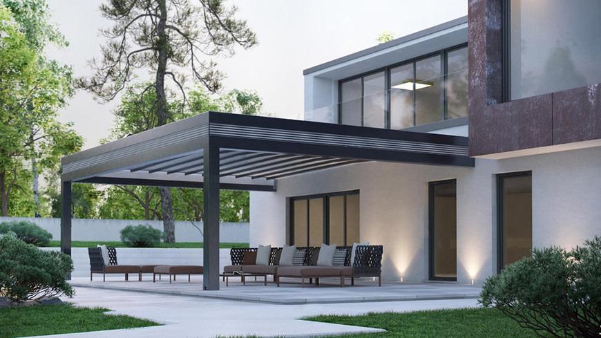 aménagement pergola extension habitation