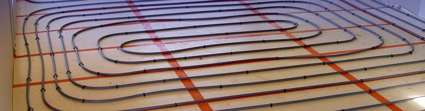 chauffage par le sol pour terrasse