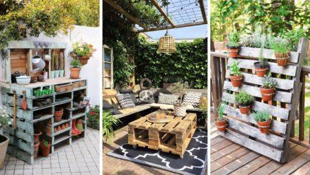 5 idées créatives pour décorer votre jardin avec des palettes