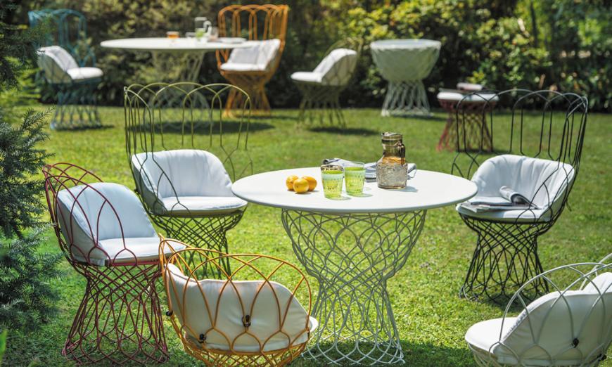 mobilier jardin emu