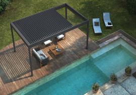 pergola piscine