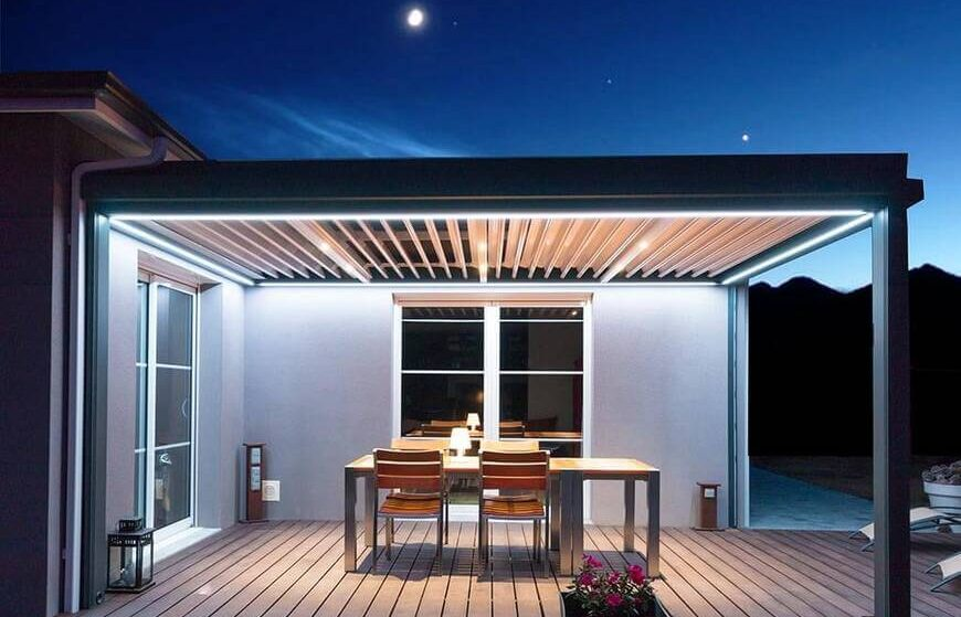 5 façons de rendre une terrasse utilisable en hiver!